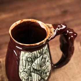 """Бокал """"Морской"""", глянец, коричневый, 1,5 л - фото 1398320"""