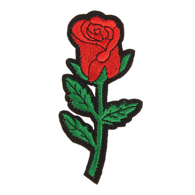 "Декор на булавке ""Роза"" для одежды, сумок, обуви"