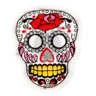 """The decoration on the head of a pin """"Skull sequins"""" for clothing, bags, shoes"""