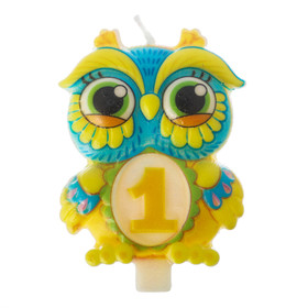 "Candle in the cake 1 ""Owl"""