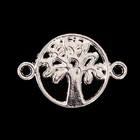 """Декор металл для творчества """"Дерево"""" (A41178) серебро 1,2х1,8 см"""