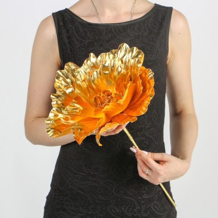 """Цветы для фотосессий """"Астра"""", золотые"""
