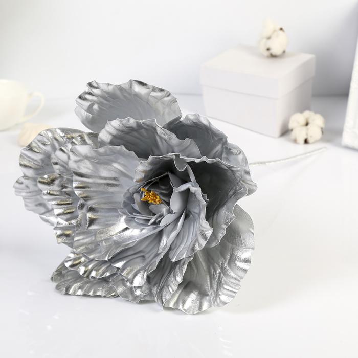 """Цветы для фотосессий """"Астра"""", серебряные"""