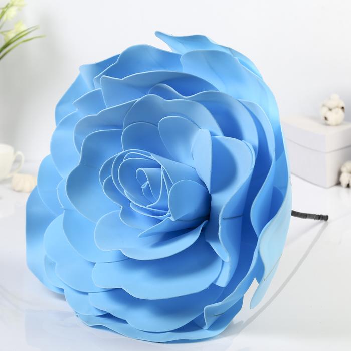 """Цветы для фотосессий """"Роза"""", голубые"""
