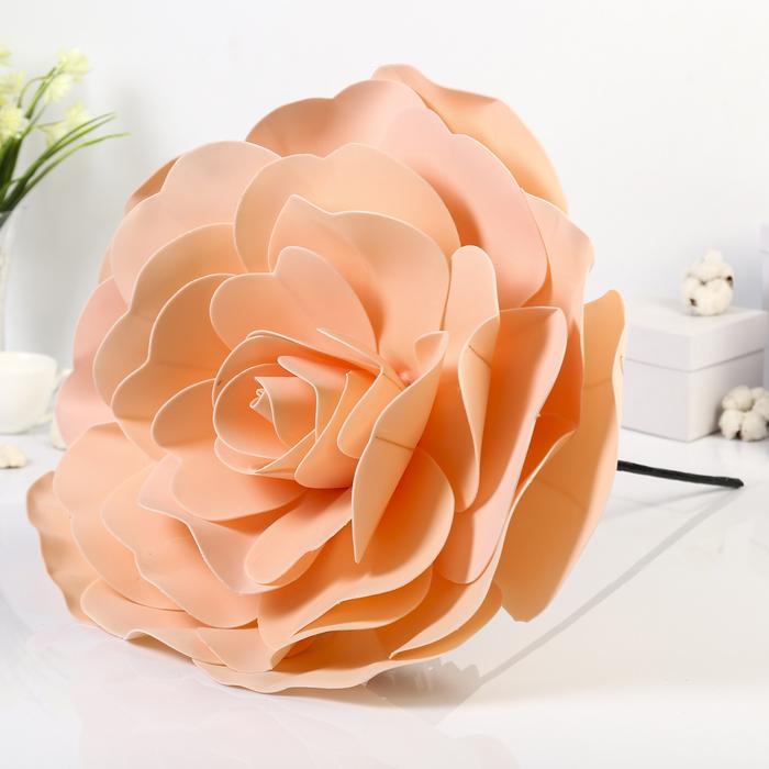 """Цветы для фотосессий """"Роза"""", кремовые"""