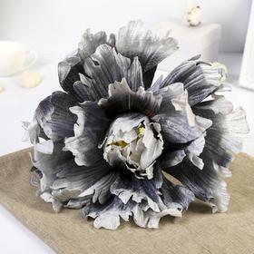 """Цветы для фотосессий """"Пион"""", серые"""