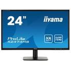 """Монитор Iiyama 23.6"""" X2474HS-B1 VA LED 4ms 16:9 HDMI M/M 250cd 178/178 1920x1080 D-Sub DP"""