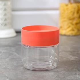 Банка для хранения сыпучих продуктов Plast team, 500 мл, цвет МИКС