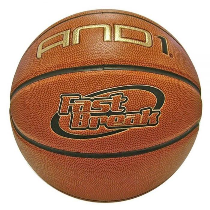 Баскетбольный мяч AND1 Fast Break Composite New Version 7