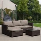 Комплект мебели из искусственного ротанга AFM-4025B Brown