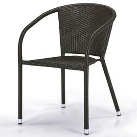 Кресло из искусственного ротанга Y137C-W53 Brown Ош