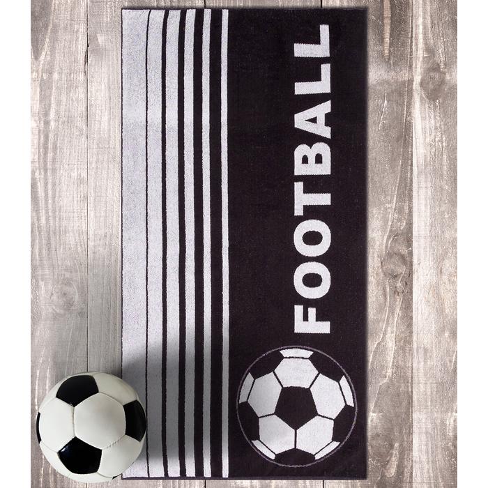 Полотенце махровое Авангард 70х140 см, Футбольный мяч МИКС, 420 гр/м