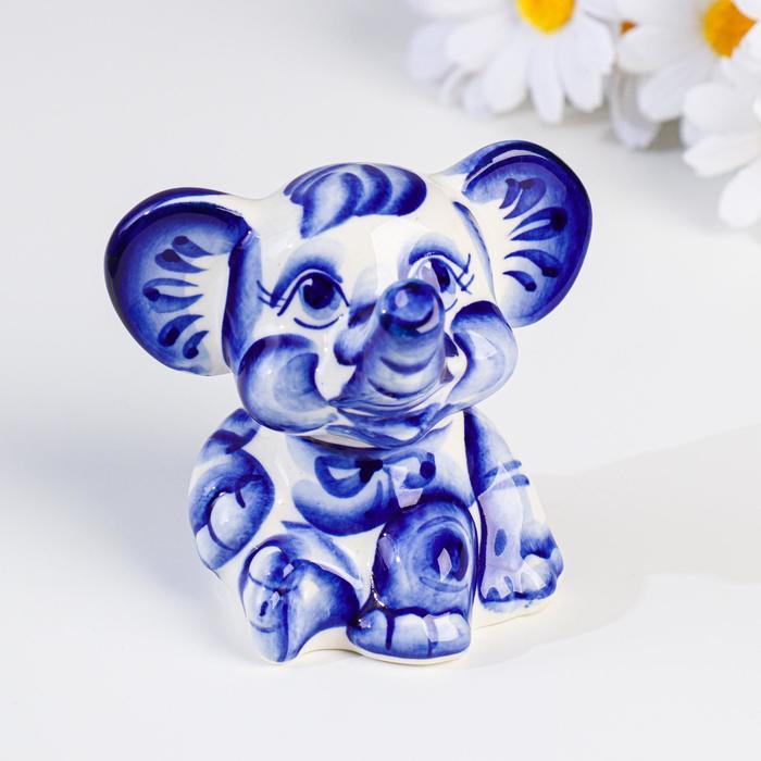 """Слон """"Лёша"""", кобальт"""