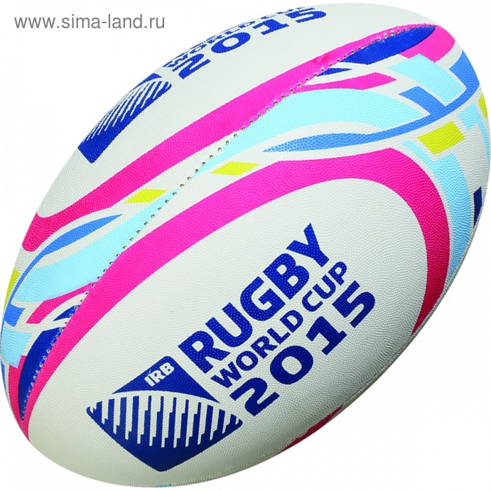 Мяч для рэгби GILBERT RWC2015 SUPPORTER PINK, 48416505, размер 5