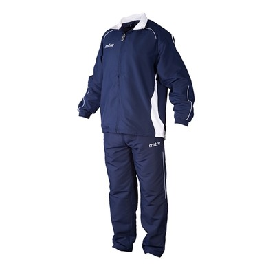 Костюм спортивный MITRE Kinetic  Юниор цвет темный синий/белый LB   5T40041BNE7
