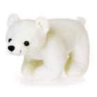 """Мягкая игрушка """"Белый медведь"""" с вышитой рыбой, №2"""