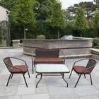 Комплект мебели из искусственного ротанга TLH-037/037D/40S Brown