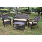 Комплект мебели из искусственного ротанга LV130 Brown/Beige