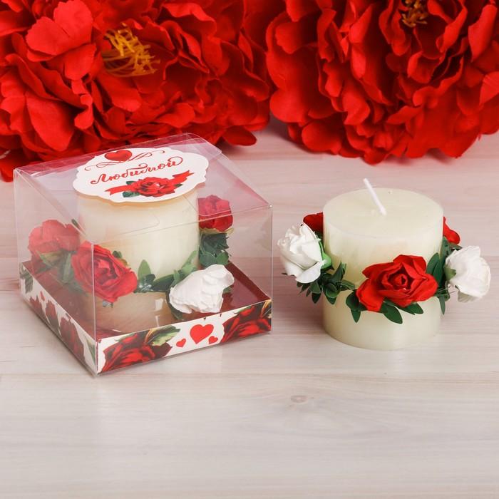 """Подарочная свеча """"Любимой"""""""