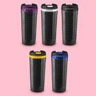 "The vacuum Cup black the ""Wave"" 350 ml, MIX"
