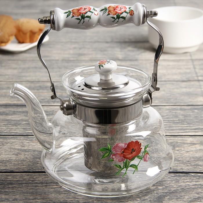 """Чайник заварочный 1 л """"Мари"""", огнеупорный"""