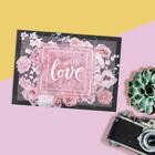 Открытка на каждый день With love, 7,5 х 10 см - фото 8441915