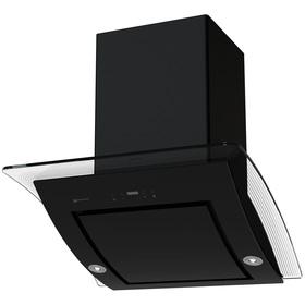 Вытяжка Shindo Aliot PS 60 B/OG 3ETC, наклонная, 720 м3/ч, 3 скорости, сенсор, чёрная