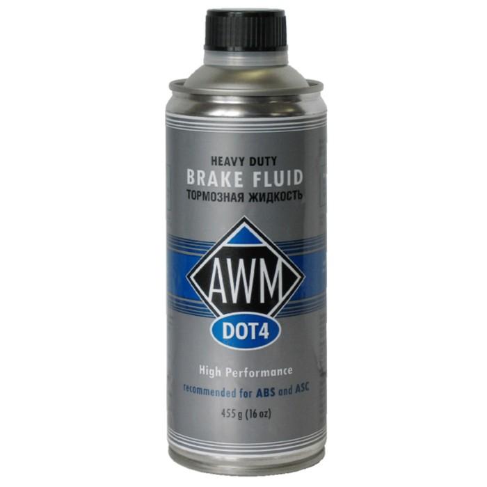 Тормозная жидкость AWM DOT, 4 455 г