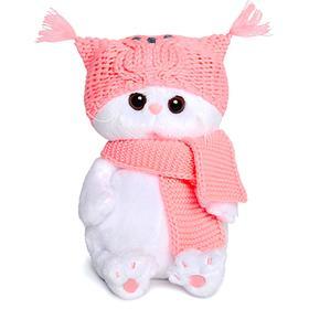 Мягкая игрушка «Ли-Ли Бэби», в шапке-сова и шарфе, 20 см
