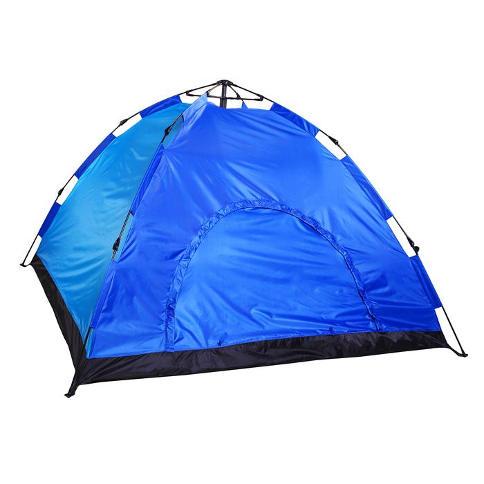 Палатка-автомат 220 х 220 х 150 см, цвет синий