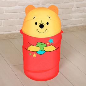 Корзина для игрушек Медвежонок Винни и его друзья с ручками и крышкой Ош