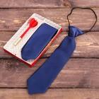 """Подарочный набор: детский галстук и ручка-дротик """"Нашему чемпиону"""""""