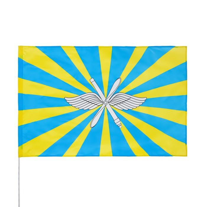 Флаг ВВС, 90 х 150 см