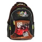 Рюкзак школьный эргономичная спинка 38*28*14см Hot Wheels Racing