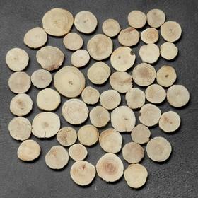 Спил 'Дубовый', круглый, d=3-4 см, h=3,5 мм Ош