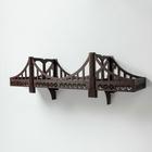 """Полка деревянная """"Бруклинский мост"""", 75 см"""
