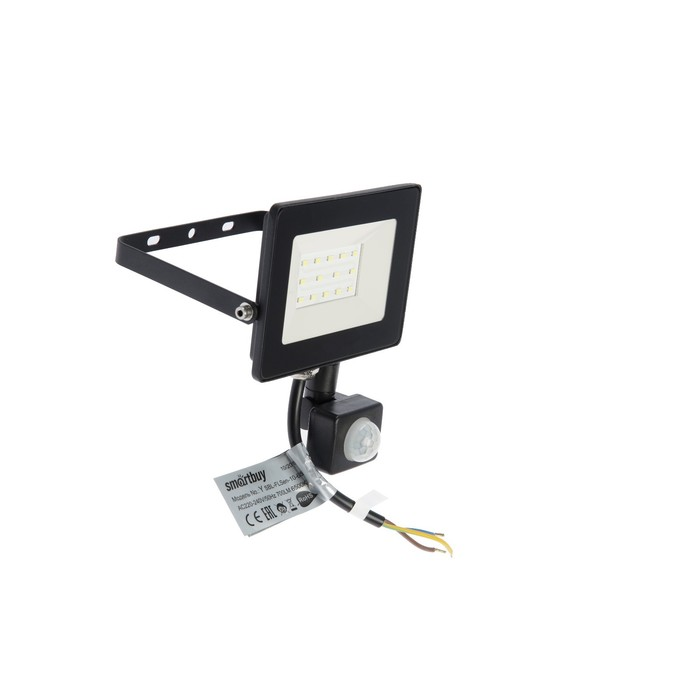 Прожектор светодиодный Smartbuy SBL-FLSen-10-65K, 10 Вт, 6500 K, IP65