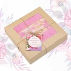 """Полотенце подарочное """"Этель"""" Для женщин, розовый 70х140 см бамбук, 450 г/м²"""