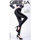 Легинсы женские LEGGY VELVET 02 цвет чёрный (black), размер 42-44 (S)