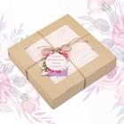 """Полотенце подарочное """"Этель"""" Для женщин, дымчато-розовый 70х140 см бамбук, 450 г/м²"""