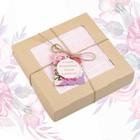 """Полотенце подарочное """"Этель"""" Для женщин, нежно-розовый 70х140 см бамбук, 450 г/м²"""