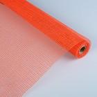 Джут натуральный, цвет ярко-оранжевый, 0,53 x 4,57 м