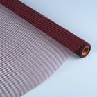 Сетка «Поло» натуральная, BOZA, каштановый, 0,53 x 4,57 см