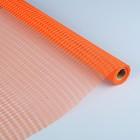 Сетка «Поло» натуральная, BOZA, ярко-оранжевый, 0,53 x 4,57 см