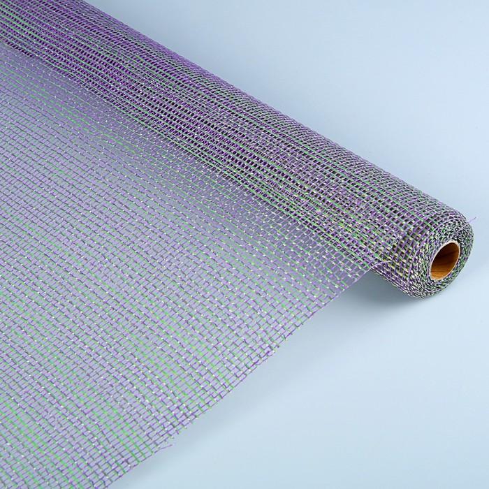Сетка «Танжер», двухцветная, BOZA, васильково-оливковый, 0,53 x 4,57 м