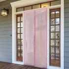 Сетка антимоскитная на магнитной ленте 90x210 см, цвет розовый