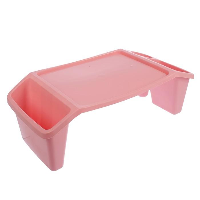 Подставка для игр, цвет нежно-розовый