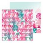 Бумага для скрапбукинга «Цветочное настроение», 20 × 20 см, 180 г/м