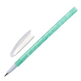 Ручка шариковая, 0.5 мм, стержень синий, корпус с рисунком, тонированная, МИКС