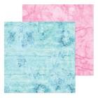 Бумага для скрапбукинга «Розовый мрамор», 20 × 20 см, 180 г/м